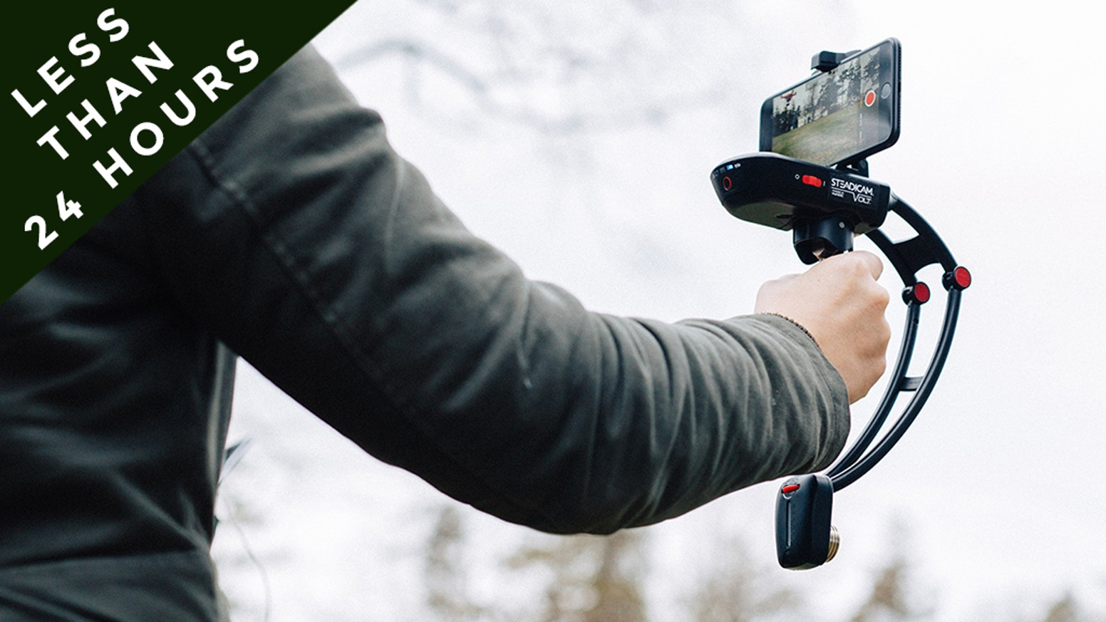 Steadicam Volt Smartphone Stabilizer Shake Free Videos By The Agiler Adaptor Usb Charger Ua101 Output 1a Original Capture Memorable Moments More Easily And Professionally From Your Mount Power On