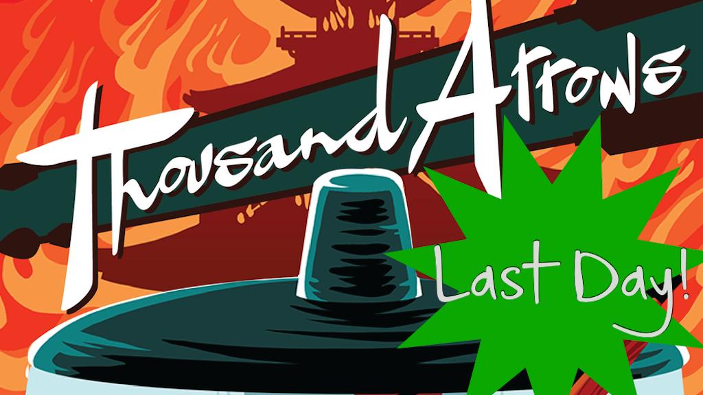Thousand Arrows: a Samurai Action & Drama TTRPG project video thumbnail