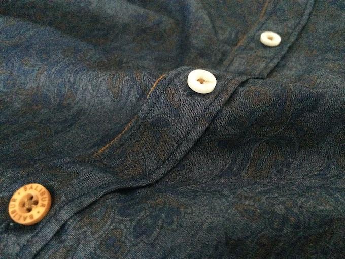 Camisa Andreu tejido