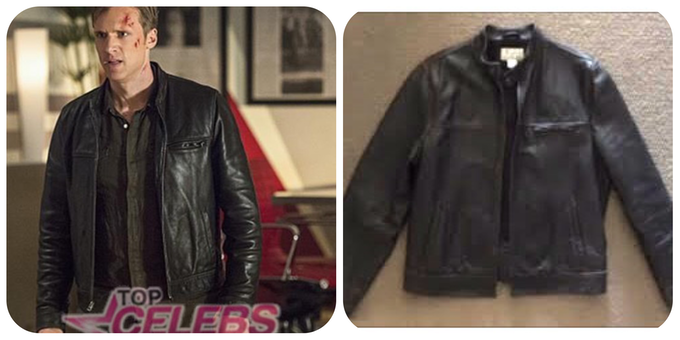 The Flash's Jay Garrick Civilian Leather Jacket worn on the show by Teddy Sears!