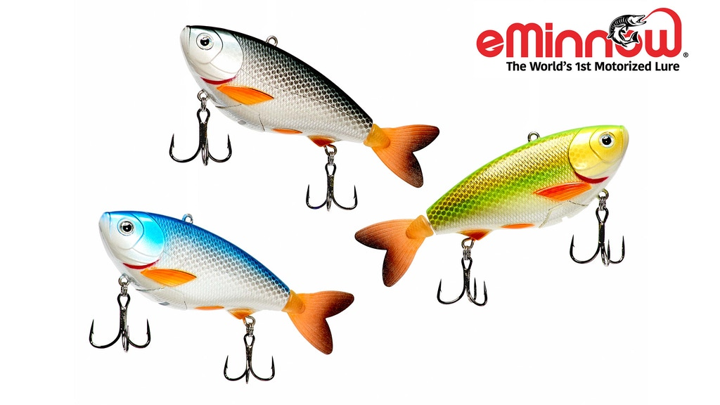 eMinnow - The Worlds 1st Fully Motorized Fishing Lure project video thumbnail