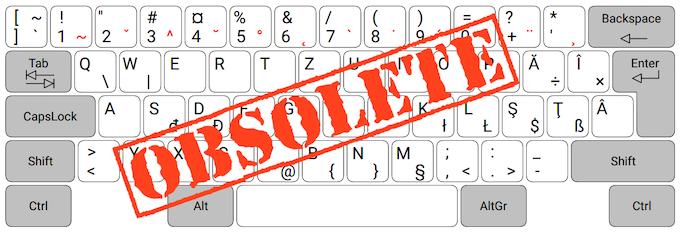 """Microsoft """"Legacy"""" Romanian keyboard layout"""