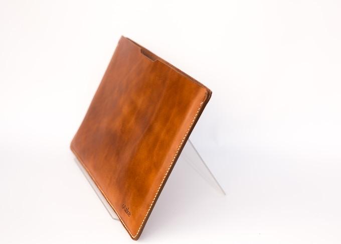 Handmade Leather Laptop Case for MacBooks