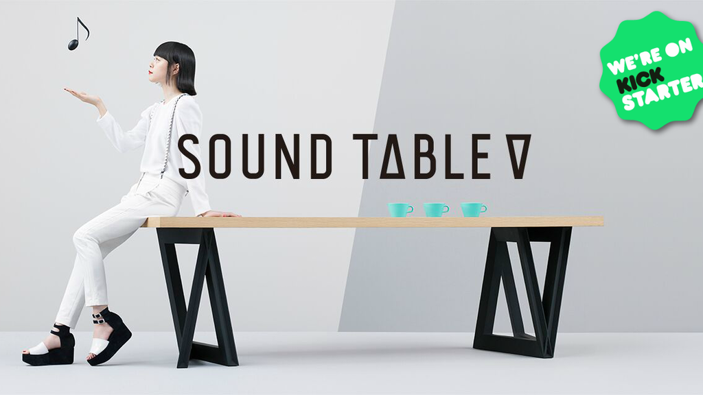 Sound Table: The World's Only Furniture That Plays Music project video thumbnail