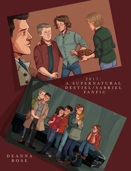Tumblr Sabriel Sam x Gabriel Supernatural comic Supernatural