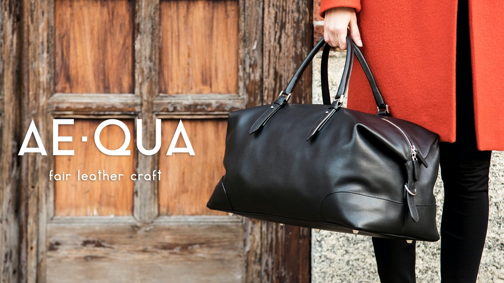 AEQUA: Fully Customizable and Unique Italian Leather Bags project video thumbnail