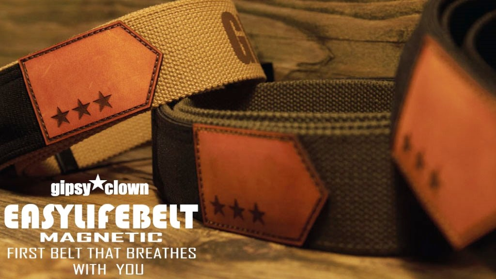 Easy Life Belt MAGNETIC - First belt that breathes with you project video thumbnail