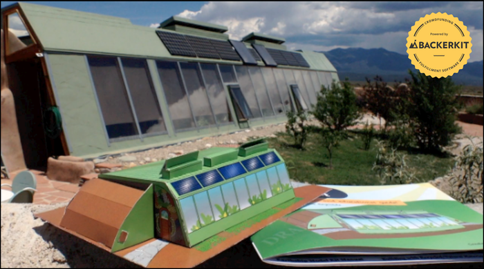 Learn how to live free, build an Earthship! The worlds' most sustainable home, now a DIY paper model build-able!