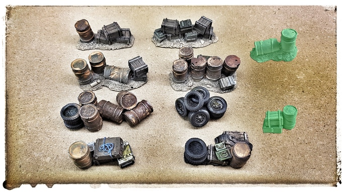 Scrap supply set (21,- €) with unlocked stretchgoals