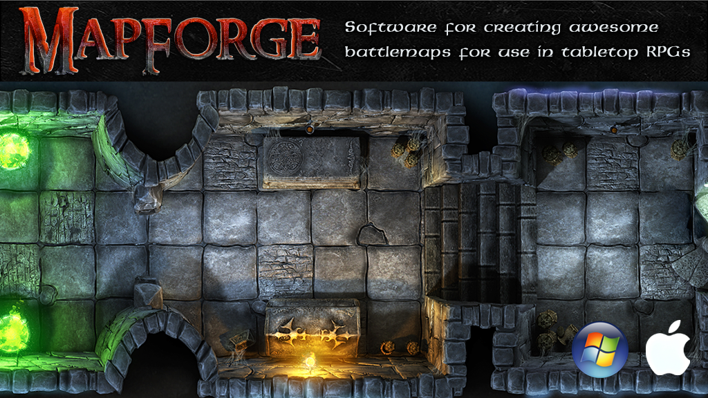 MapForge – battlemap creation software for tabletop RPGs project video thumbnail