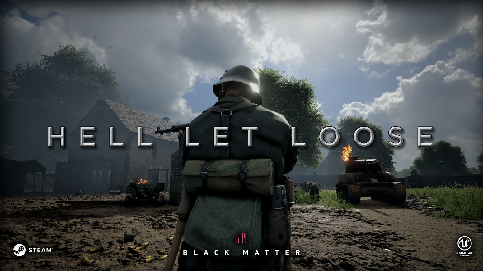 Hell Let Loose is a platoon-based realistic multiplayer first-person shooting game for PC set during the Second World War.