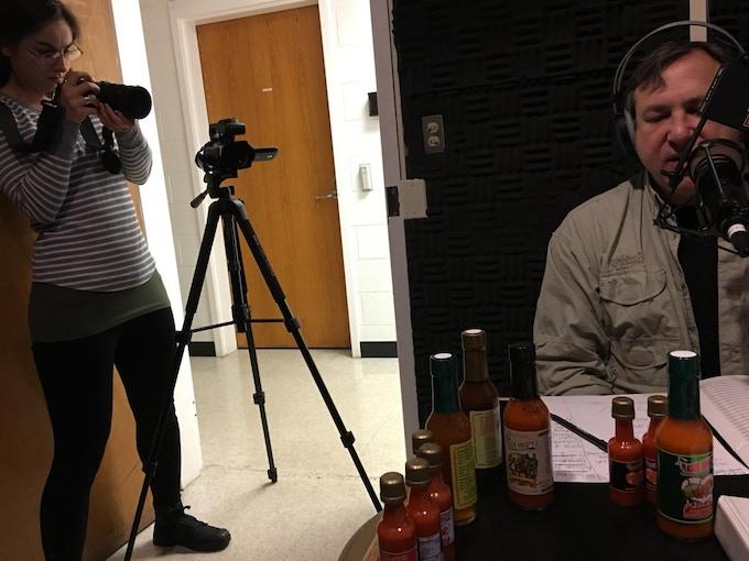 WSNC (Winston Salem, NC) 90.5 NPR INTERVIEW OF MAYA MIKE