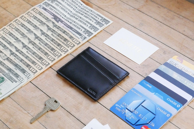 Perfect Slim Wallet By Kenette Louis Kickstarter