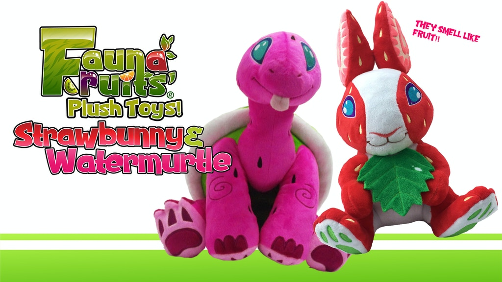 Fauna Fruits: Strawbunny and Watermurtle Plush Toys! project video thumbnail