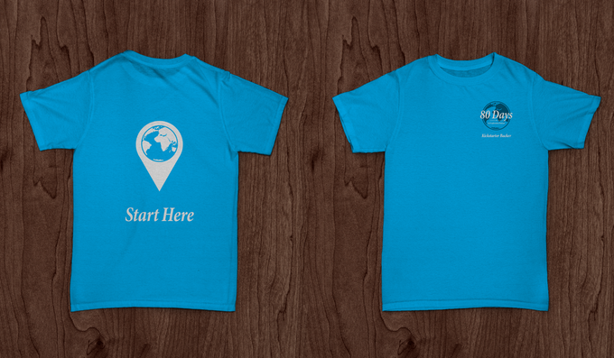 The shirt we've designed for backers at the 'Towncar' level or above