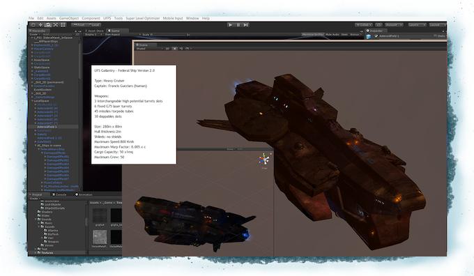 UFS Gallantry - work in progress in game editor.