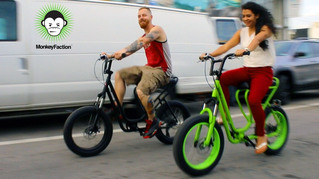 Monkey Faction | An evolutionary cool bicycle project video thumbnail