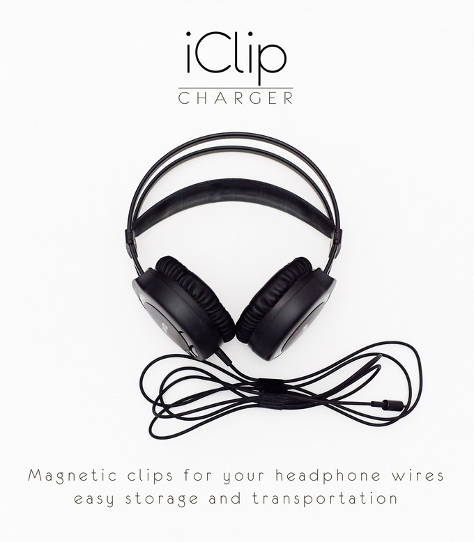 iClip - the World\'s most ultimate magnetic wire organizer by INVENT ...