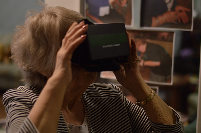 The WAYBACK Project uses Virtual Reality to recreate moments and help people recall memories from the past