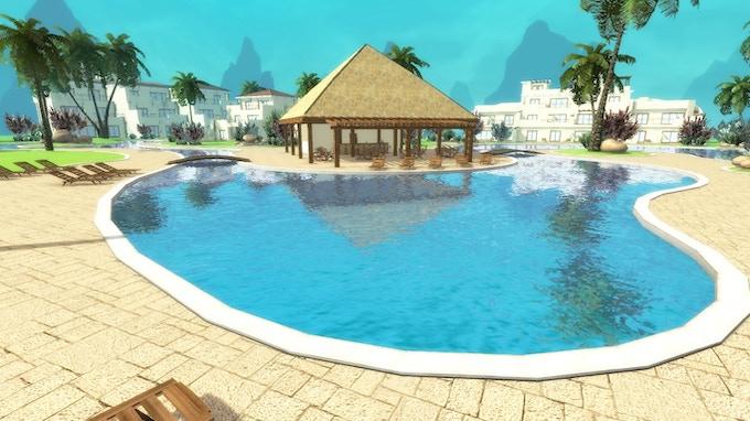 Twistin' by the pool anyone?