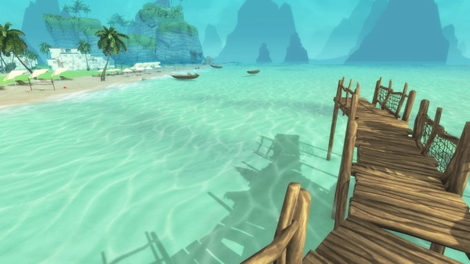 The dock, perfect for snorkeling and fishing!