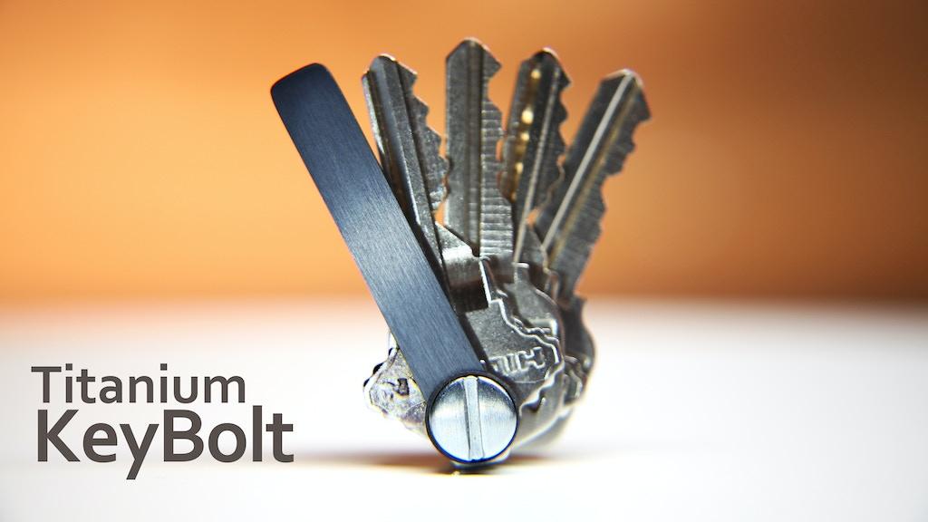 KeyBolt | The Minimalist Keyring Alternative project video thumbnail