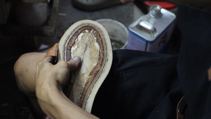 Hand welting