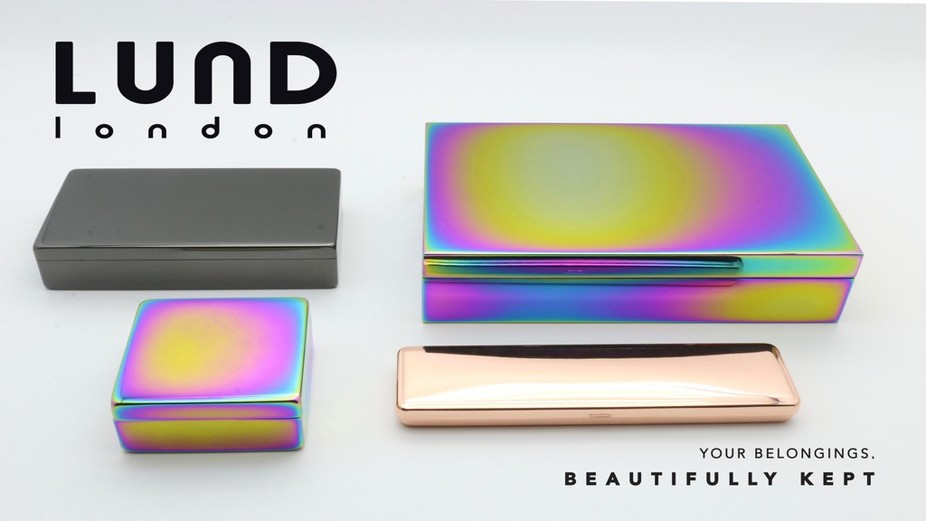 Store your keepsakes in style - the Lund Luxe Collection project video thumbnail