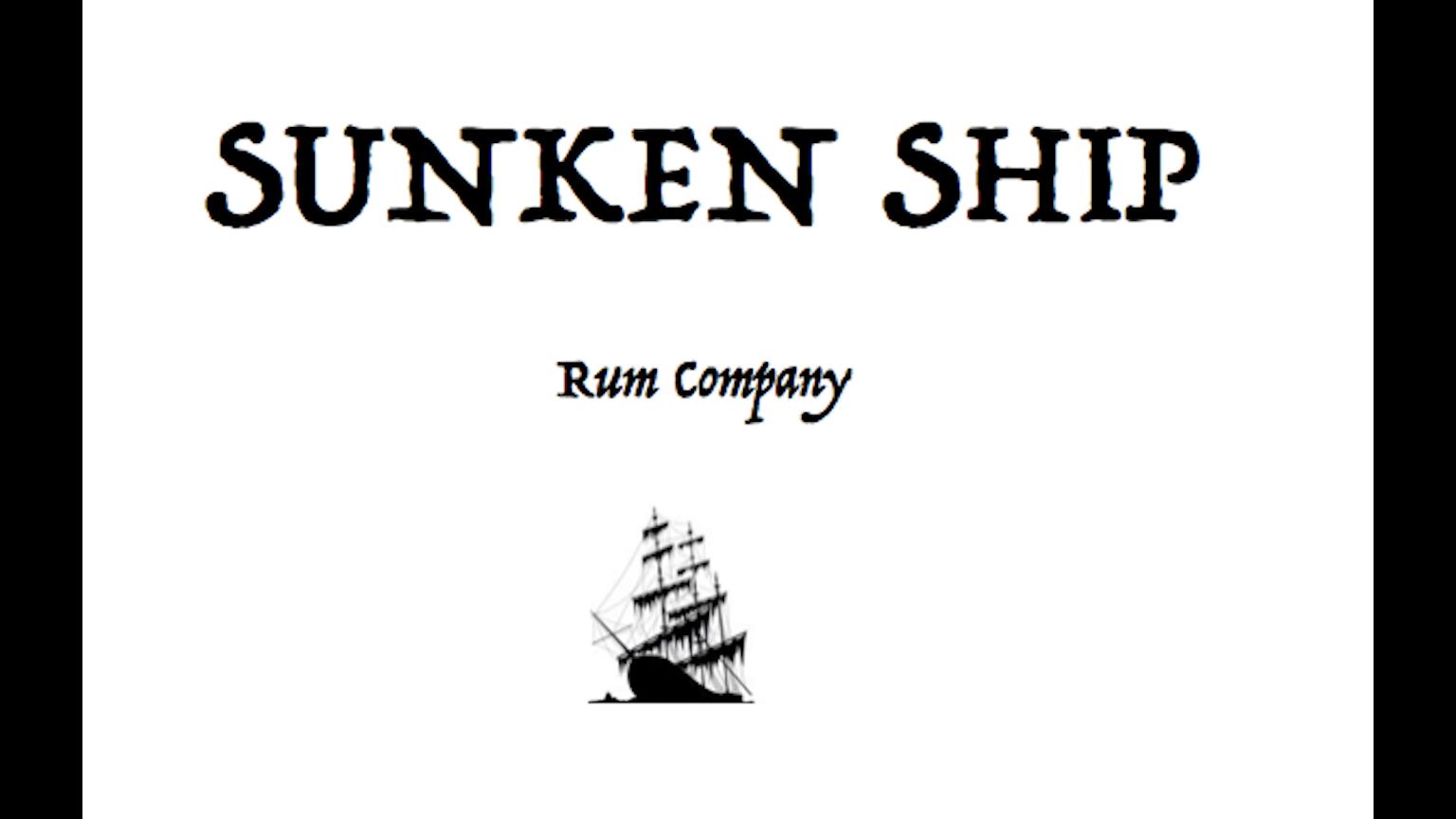 Sunken Ship Rum Company by A. E. Asriel I. —Kickstarter