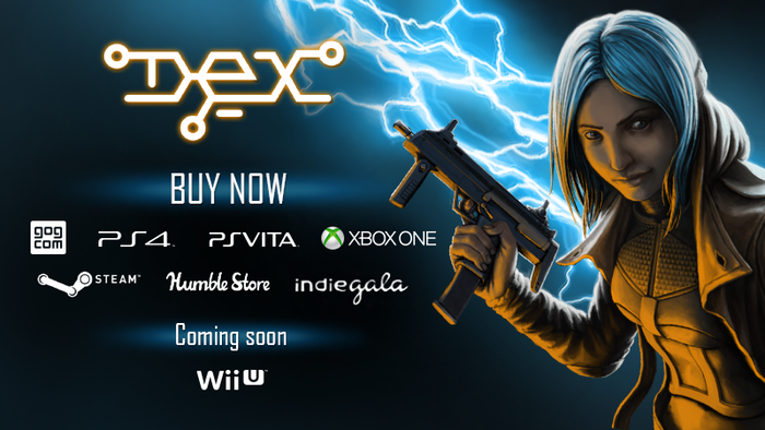 A story-driven action/stealth sidescrolling RPG with a fresh new vision of cyberspace.