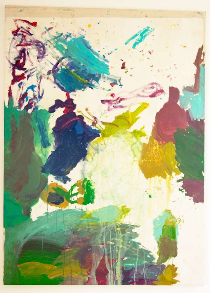 Painting for the Island big, 120 x 165cm