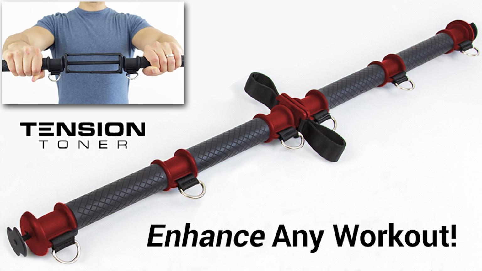 tension toner activate more muscles enhance your workouts by joe sans kickstarter. Black Bedroom Furniture Sets. Home Design Ideas