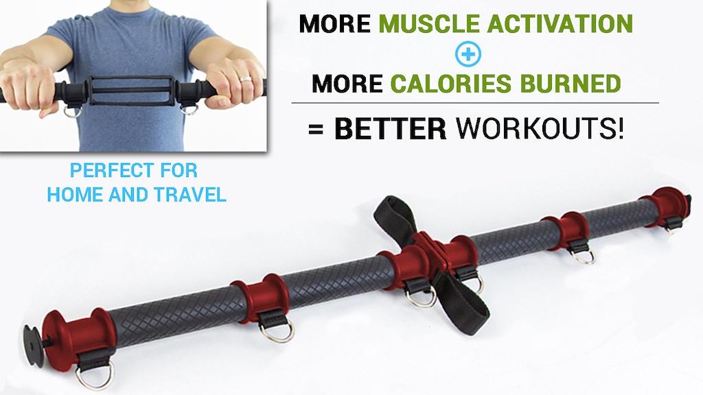 tension toner activate more muscle burn more calories by joe sans kickstarter. Black Bedroom Furniture Sets. Home Design Ideas