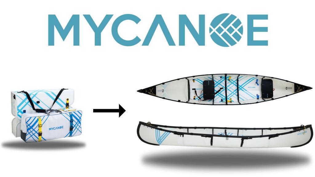 MYCANOE: Origami Folding Canoe That Travels in a Box project video thumbnail