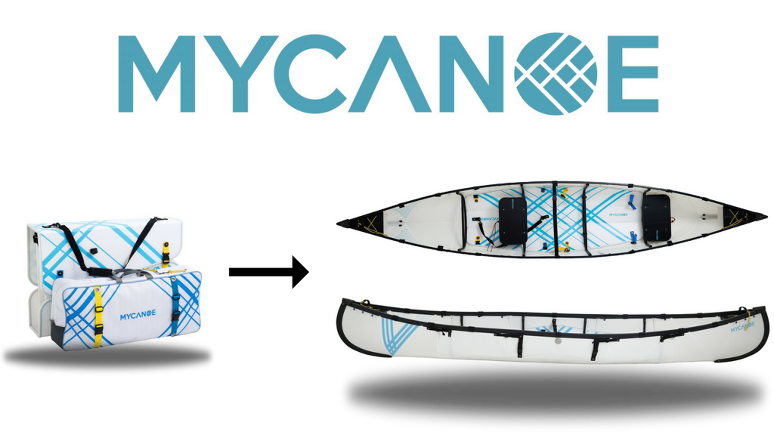 A carrying case to a full size quality canoe in 10 minutes! Cool Invention, an origami folding canoe. Approved by many paddlers.