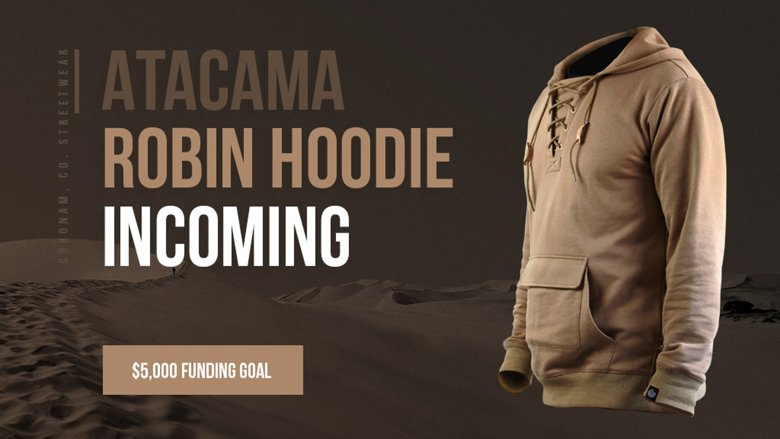 Bringing together modern street fashion and past era clothing styles, the Robin Hoodie is the next step in the fashion timeline.