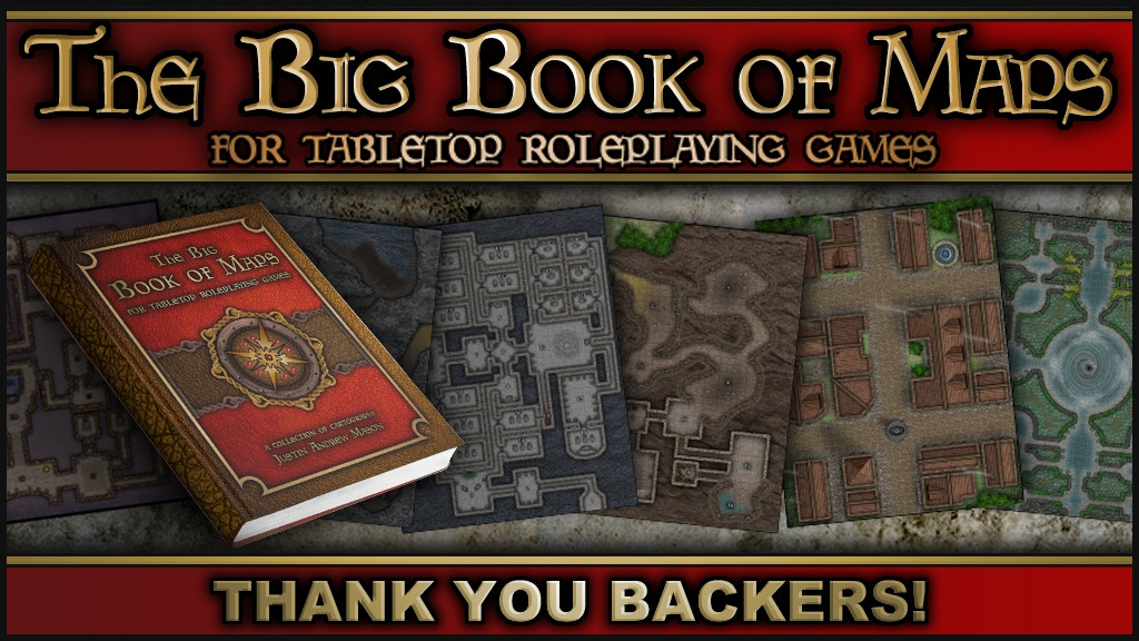 The Big Book of Maps (for Tabletop Roleplaying Games) project video thumbnail