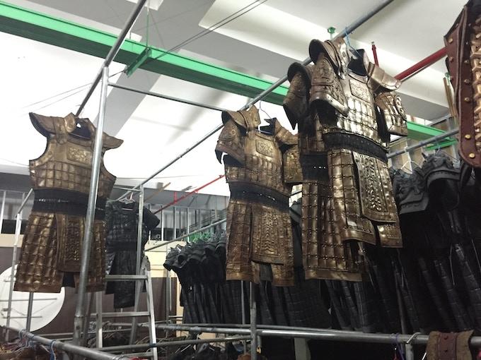 army pledge armour size