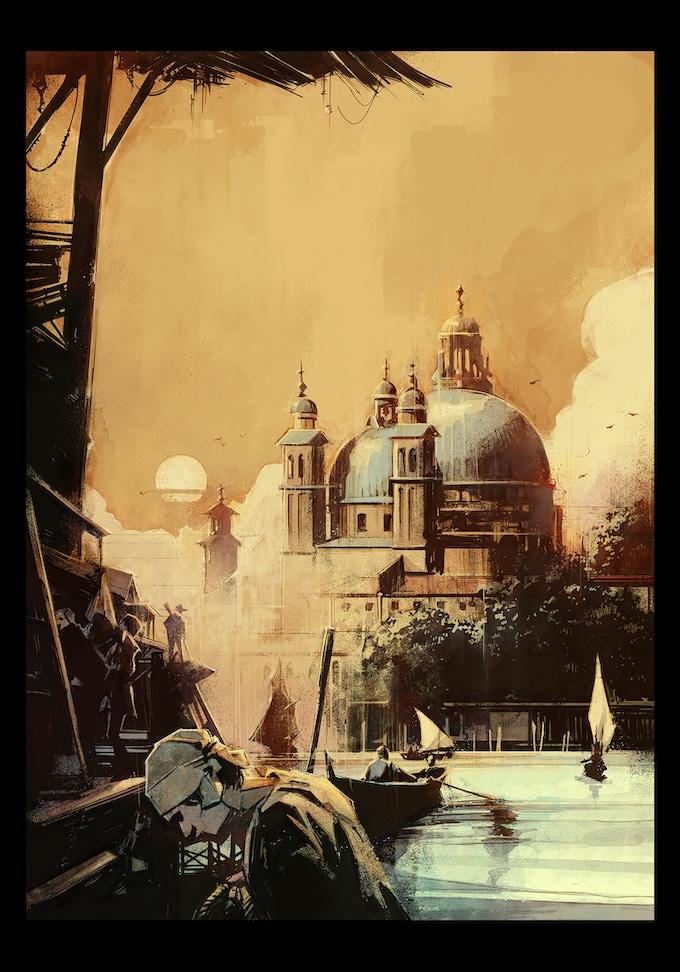 Venice - Opening Shot...