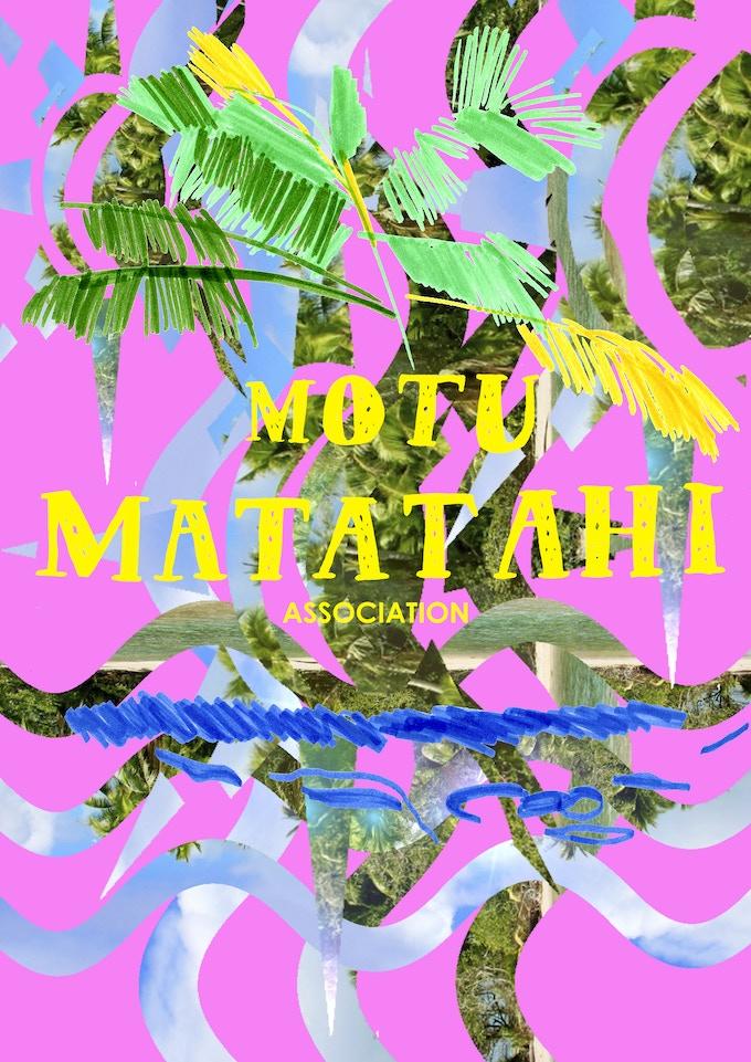 Motu Matatahi Association Poster DIN-A0, 200g paper