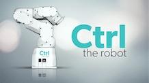 CTRL The Robot. A modern industrial robot for the desktop.