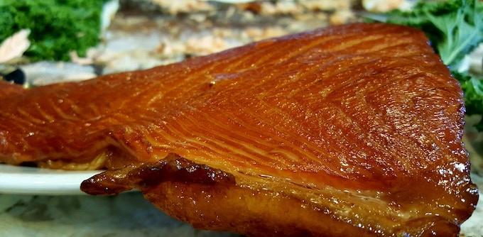 Smoked Nova Scotia King Salmon