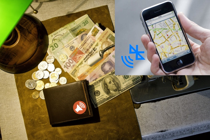 Track your wallet and Mobile device. Minimize lost and theft incidents!