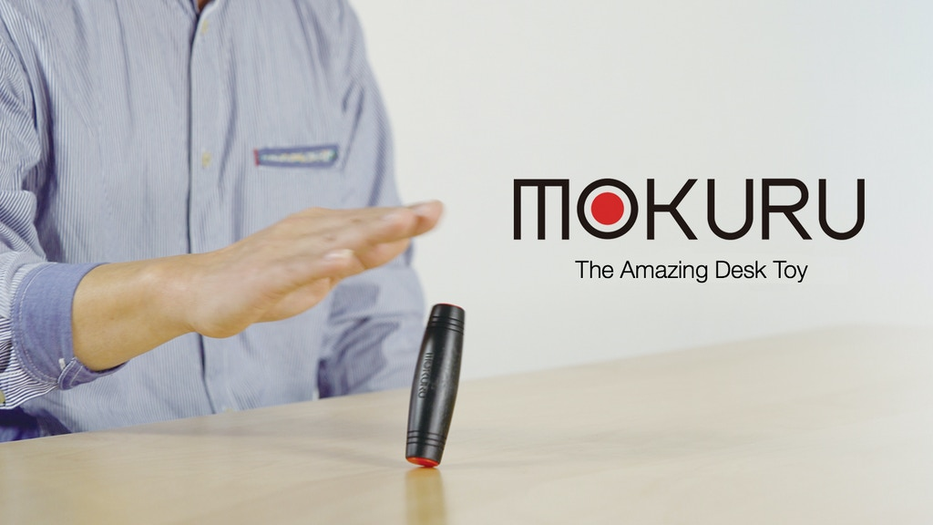 MOKURU: The Amazing Desk Toy That You Can Take Anywhere! project video thumbnail