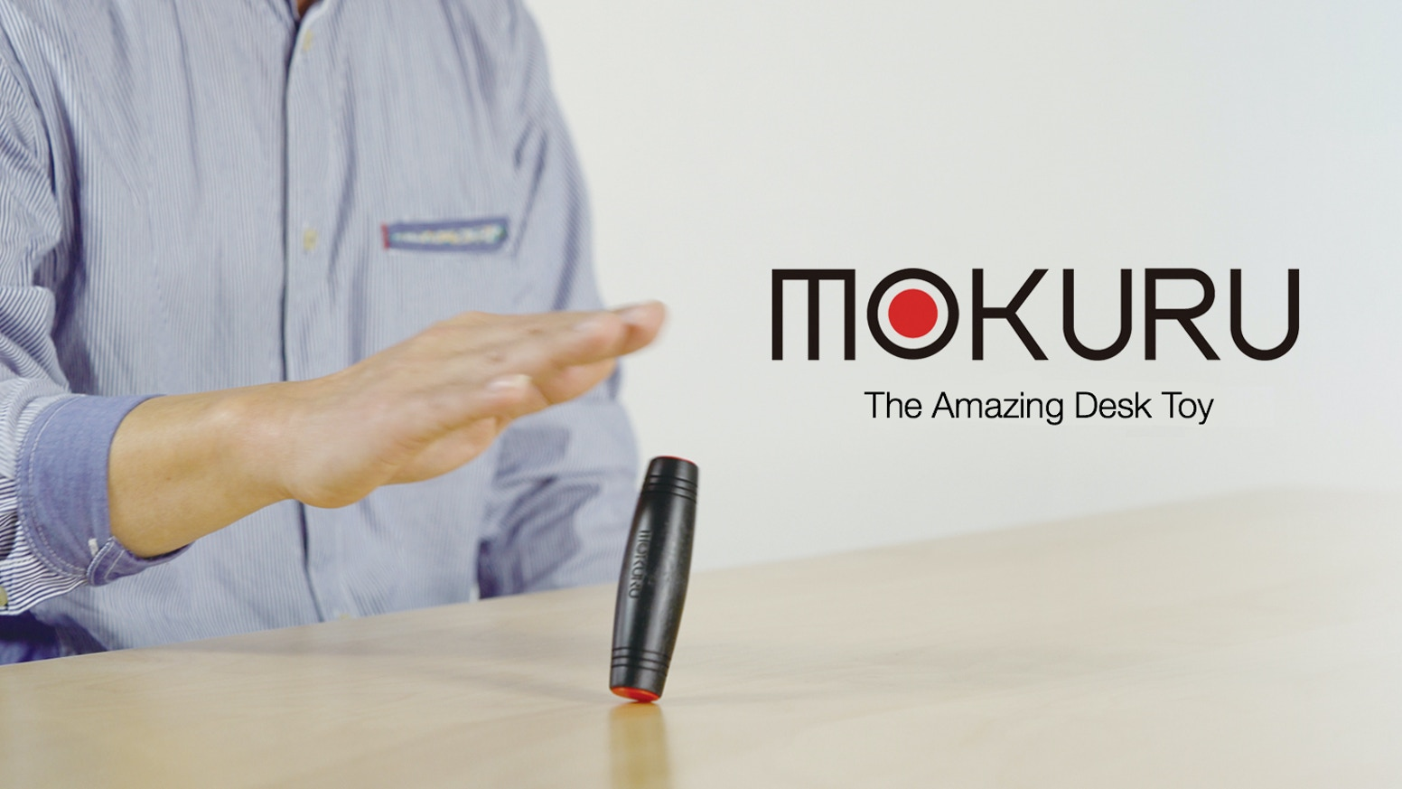 MOKURU is the unique & inventive desk toy that's easy to flip, roll and do tricks with, giving you endless possibilities of fun!
