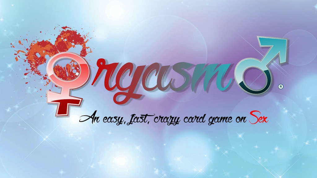 Orgasmo! The Orgy Card Game project video thumbnail