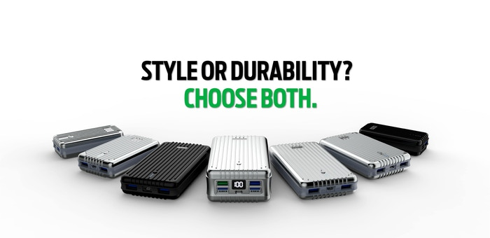 Durable, powerful backup power for your mobile needs.