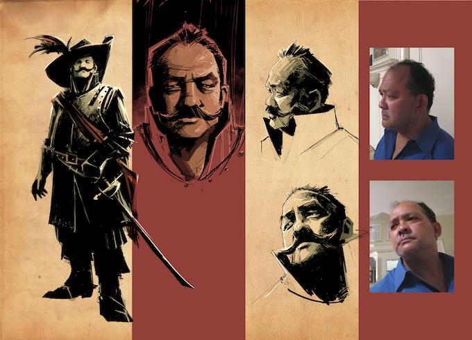 The Sheriff - Design Sketches