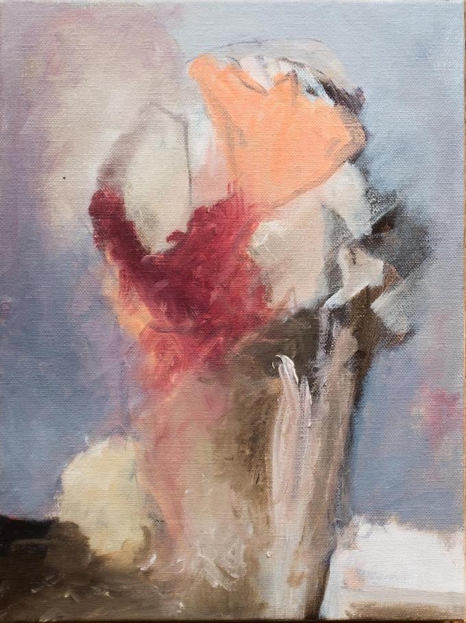 Original painting by William Irving Singer, Reward 3/5