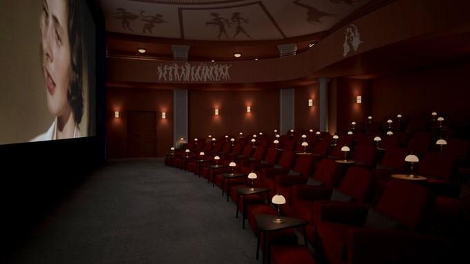 3D-modell av Capitol salong 1